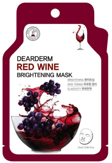Dearderm Red Wine Face Mask