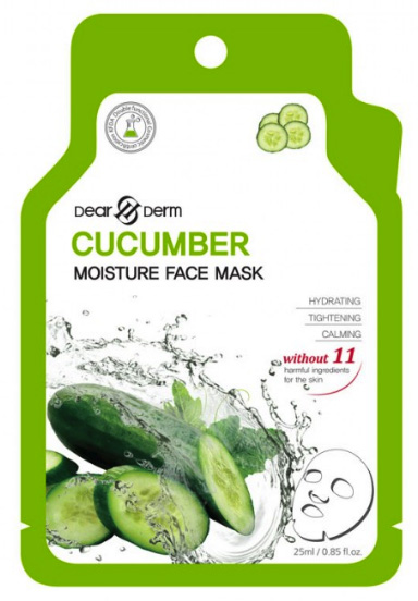 Dearderm Cucumber Face Mask
