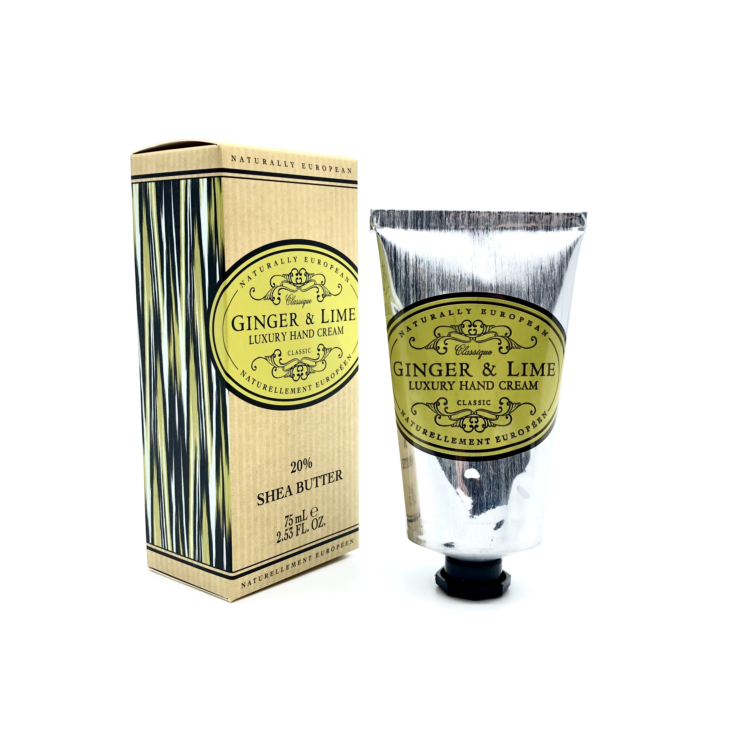 Naturally European Luxury Hand Cream Ginger Lime