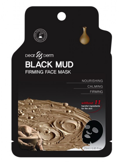 Dearderm Black Mud Face Mask