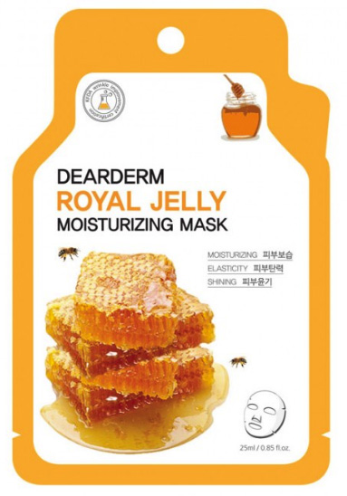 Dearderm Royal Jelly Face Mask