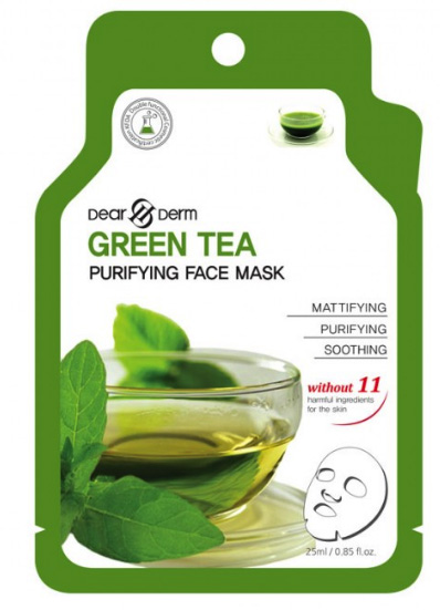 Dearderm Green Tea Face Mask