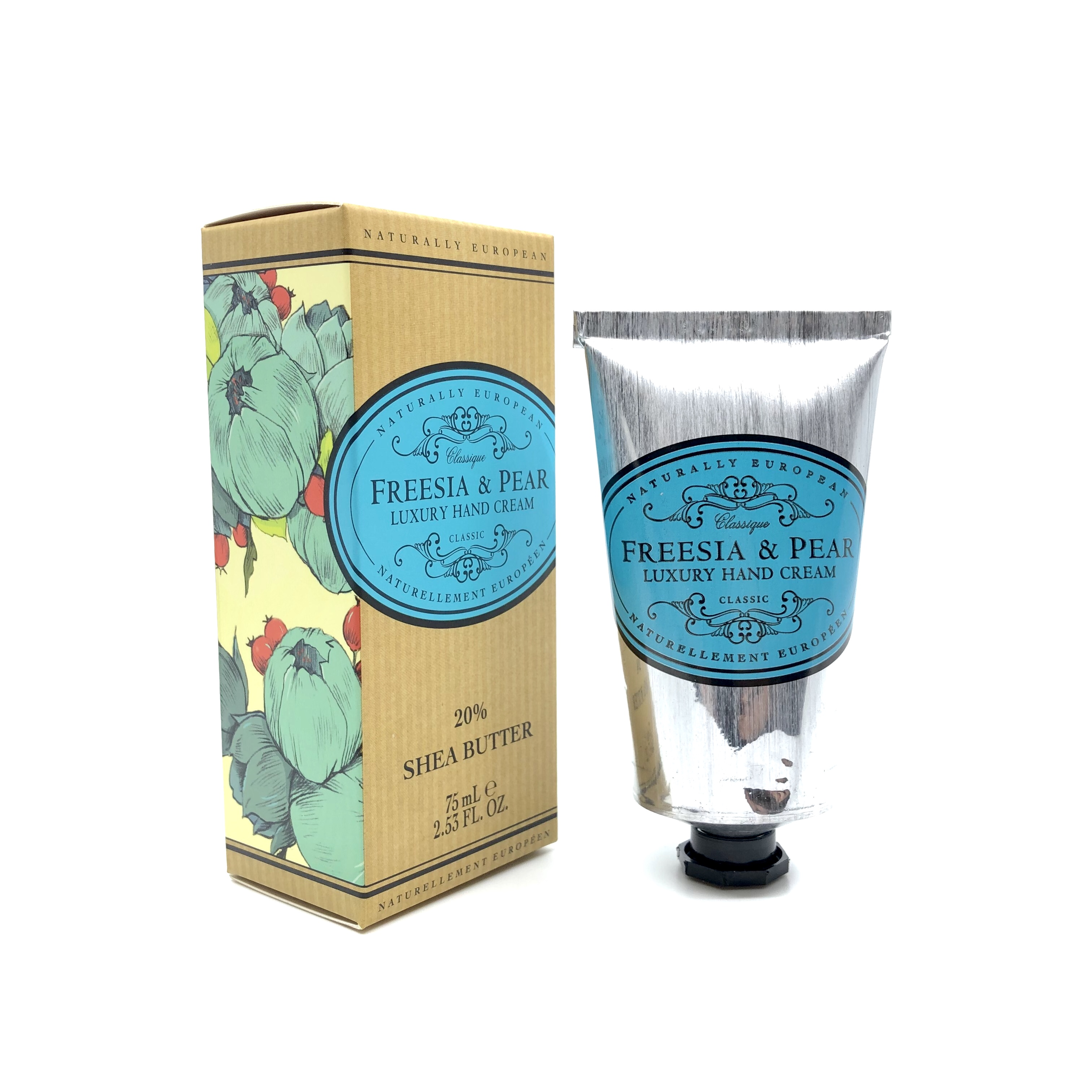 Naturally European Luxury Hand Cream Freesia Pear